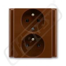 Dvojzásuvka CLASSIC 5512-2249 H3