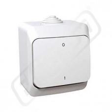 Spínač CEDAR WDE000520 č.2 bílá IP44