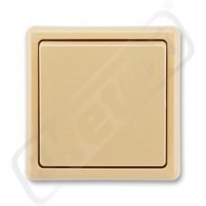 Spínač 3553-02289 D2 classic béžová