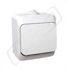 Spínač CEDAR WDE000510 č.1 bílá IP44