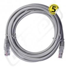 Kabel patch CAT5E UTP PVC 3m
