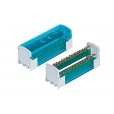 Distribuční svorkovnice-blok+kryt 2x15 125A