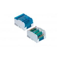 Distribuční svorkovnice-blok+kryt 4x7 100A