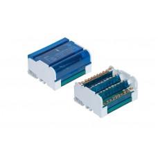 Distribuční svorkovnice-blok+kryt 4x11 125A