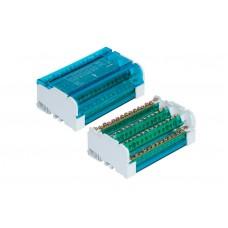 Distribuční svorkovnice-blok+kryt 4x15 125A