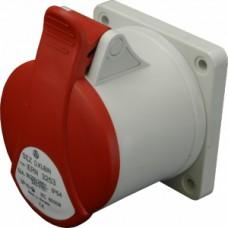 Zásuvka vestavná IP54, 16A, 4-pól