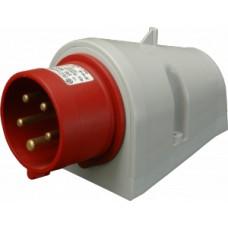 Nástěnná přívodka bezšroubová IP44, 16A, 5-pól