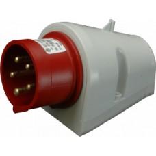 Nástěnná přívodka IP44, 16A, 5-pól