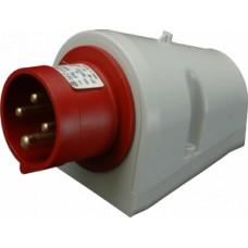 Nástěnná přívodka IP44, 32A, 4-pól