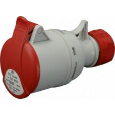 Spojovací zásuvka bezšroubová IP44, 16A, 5-pól