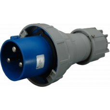 Vidlice průmyslová IP67, 125A, 3-pól