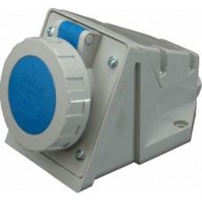Nástěnná zásuvka IP67, 16A, 3-pól