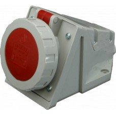 Nástěnná zásuvka IP67, 16A, 5-pól