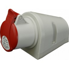 Nástěnná zásuvka IP44, 32A, 4-pól