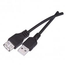 USB kabel 2.0 A vidlice - A zásuvka 2m