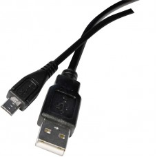 USB kabel 2.0 A vidlice - mikro B vidlice 2m