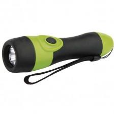 LED svítilna gumová, 3x LED, na 2x AA