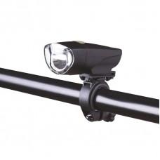 Svítilna na kolo 1x LED, 1W, na 3x AAA, přední