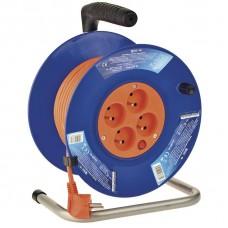 PVC prodlužovací kabel na bubnu - 4 zásuvky 25m