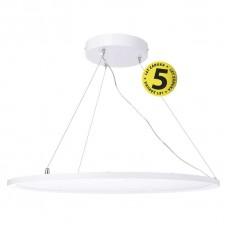 LED panel kruhový závěsný bílý, 40W neutrální bílá UGR