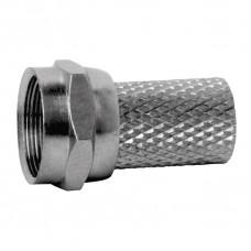 Konektor F vidlice pro koax CB113, 10 ks