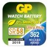Knoflíková baterie do hodinek GP 362F, krabička