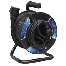 Gumový prodlužovací kabel na bubnu - spojka 25m