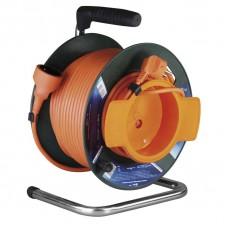 PVC prodlužovací kabel na bubnu - spojka 50m