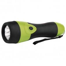 LED svítilna gumová, 5x LED, na 2x D
