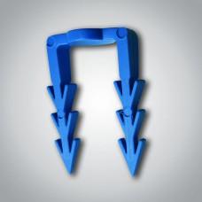 Příchytka kabelu velká/modrá (BAL=50ks)
