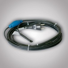 Topný okruh s vidlicí a termostatem pro protimrazovou ochranu potrubí PFP 6m/72W