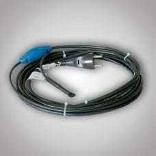 Topný okruh s vidlicí a termostatem pro protimrazovou ochranu potrubí PFP 10m/136W