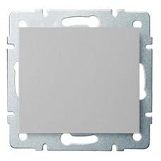 LOGI Tlačítko - 1/0 - stříbrné
