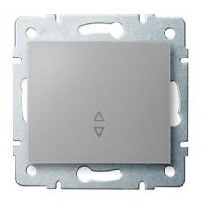 LOGI Schodišťový vypínač - č. 6 - stříbrný