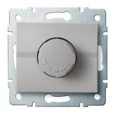 LOGI Otočný stmívač 500W s filtrem - stříbrná