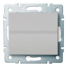 LOGI Zásuvka IP44 - stříbrná