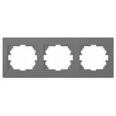 LOGI Trojnásobný horizontální rámeček grafit