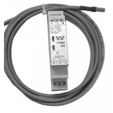 HTS64DIN termostat na DIN lištu