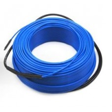 Dvoužílový opletený odporový topný kabel LineT20, 15m, 300W