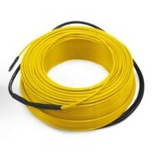 Dvoužílový opletený odporový topný kabel LineT10, 50m, 500W