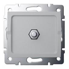 LOGI Ekvipotenciální zásuvka - stříbrná