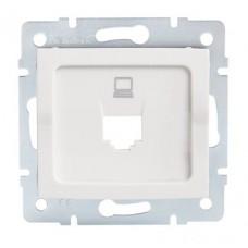 LOGI Adaptér datové zásuvky 1xRJ45 - bílý