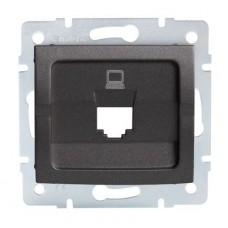 LOGI Adaptér datové zásuvky 1xRJ45 - grafit