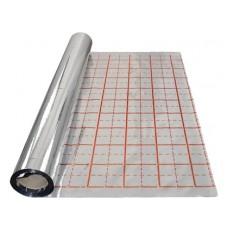 Al fólie odrazová separační pod topné kabely pro podlahové vytápění 50m x 1,05m